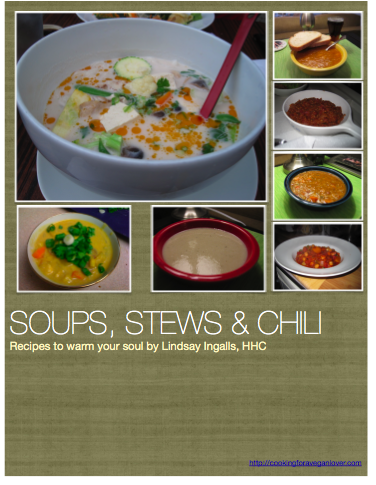 Soups, Stews & Chili - Vegan recipes to warm your soul