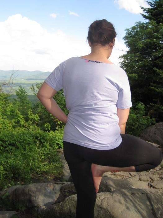 mountain top yoga long trail