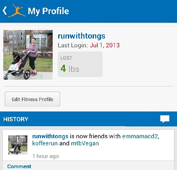 My Fitness Pal jul 1 2013