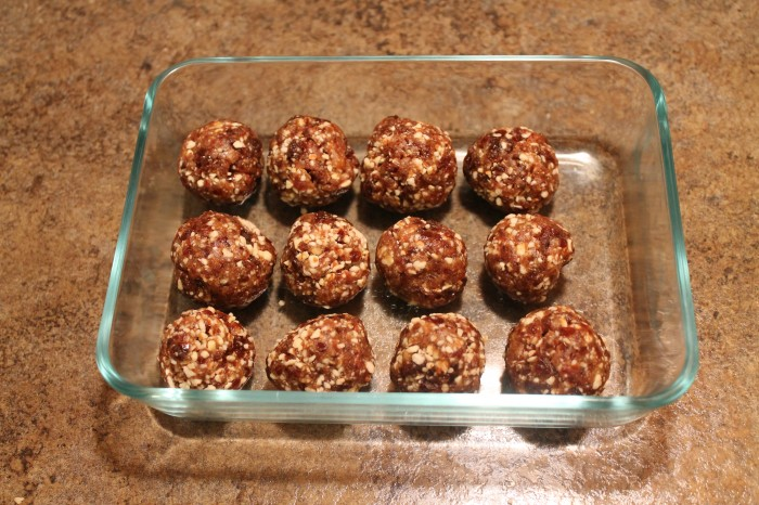 Date Balls- Finished Product