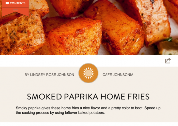 Foodie App Gluten Free Collection Smoked Paprika Home Fries