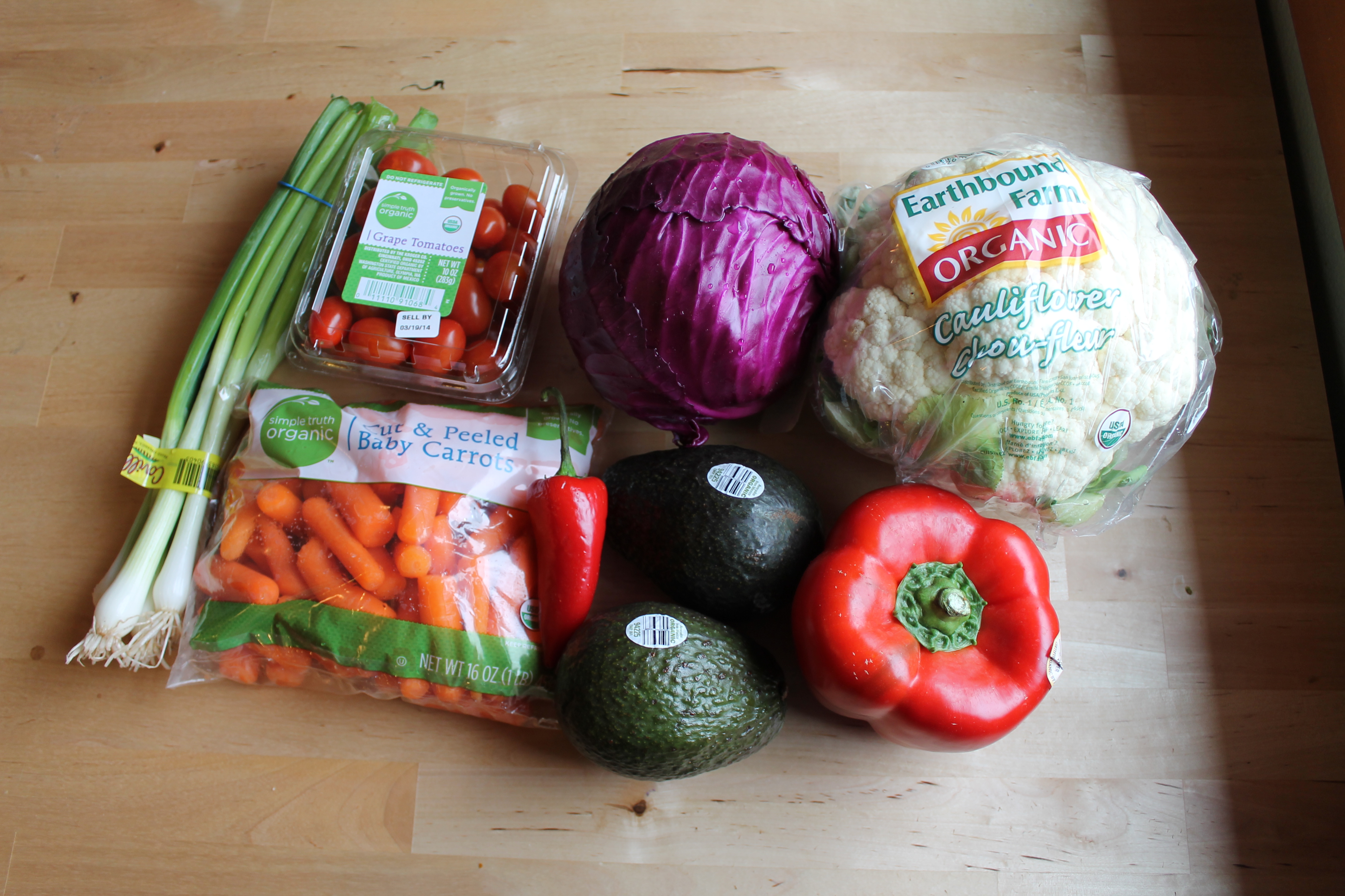 Groceries Week 2 Fruits & Veg