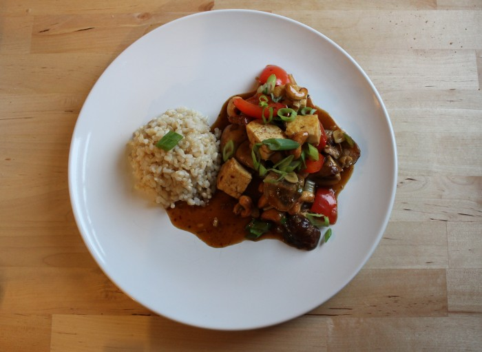 Meatless Monday Cashew Stir Fry Tofu