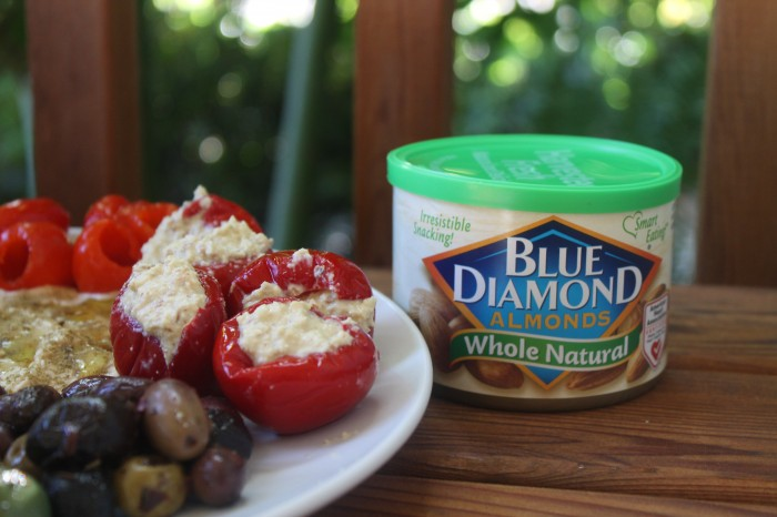 Blue Diamond Almonds - Stuffed Peppers 2