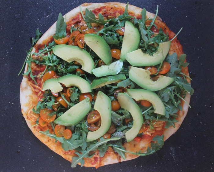 Delicious Arugula Pizza recipe that I made - so good!