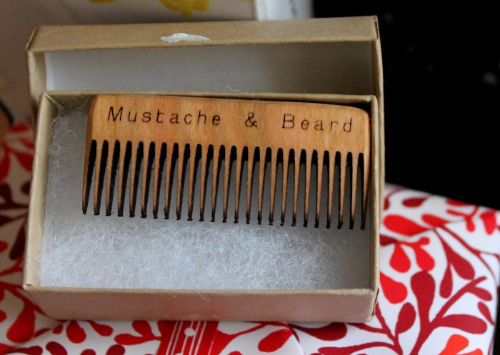 UnCommon Goods mustache & beard