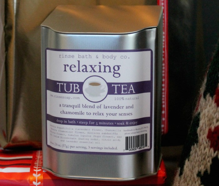 UnCommon Goods relaxing tub tea