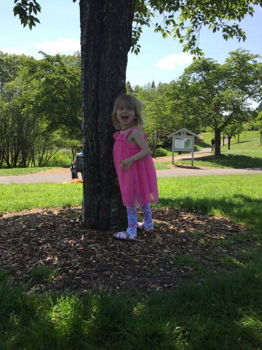 WIAW | Picnic At The Ladybug Park | Hide & Seek