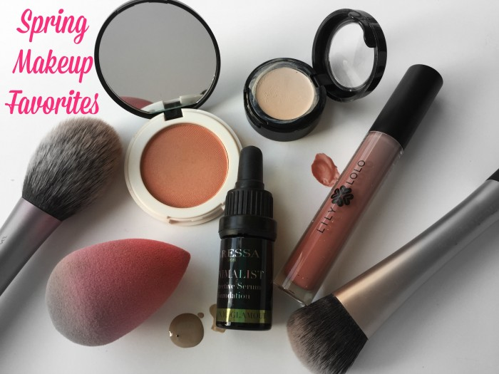 SPRING FAVORITES | Makeup | Gressa, Lily Lolo and Au Naturale