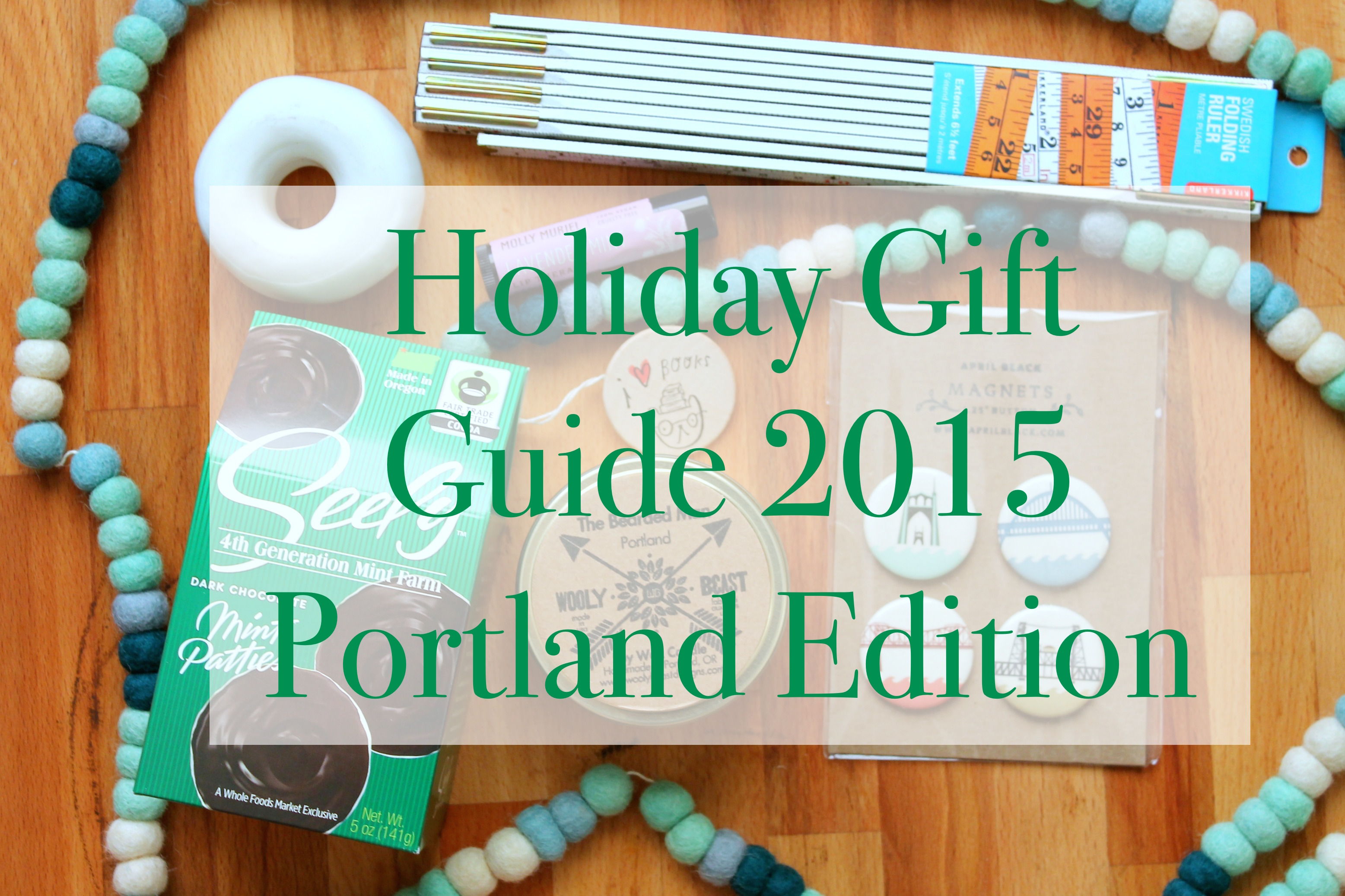 2015 PDX Gift Guide