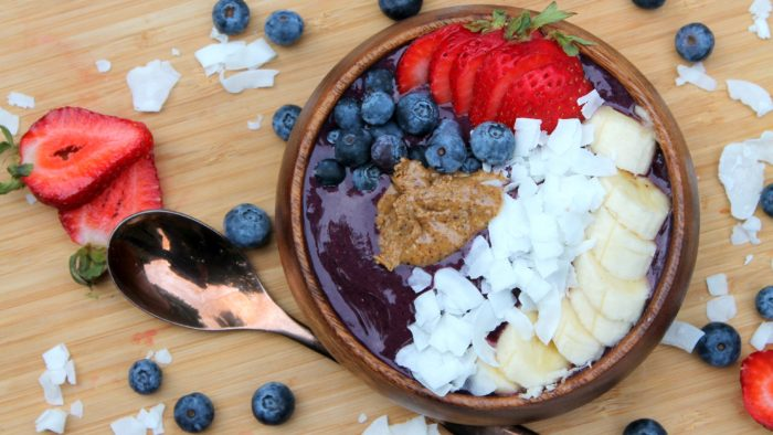 genesis superfood smoothie bowl