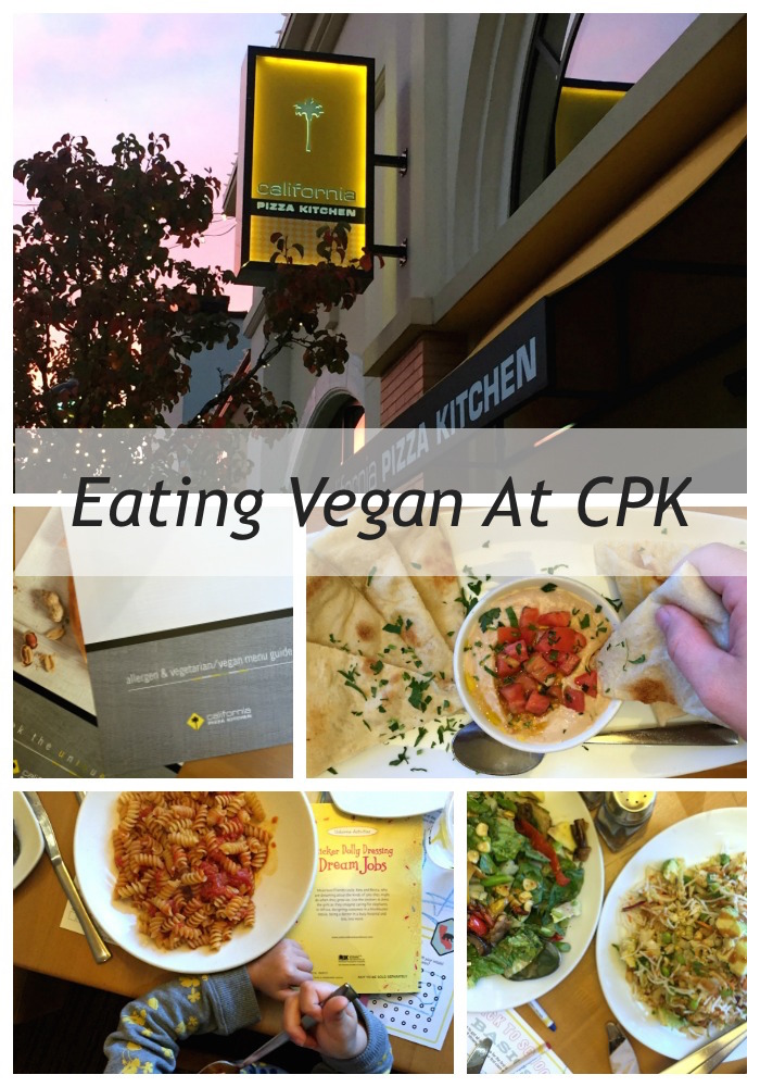 charming California Pizza Kitchen Bridgeport #8: [Dining Out Plant-Based] California Pizza Kitchen